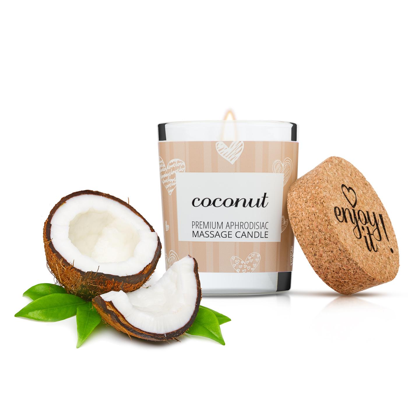 Masážní svíčka MAGNETIFICO Enjoy it! - Coconut 9
